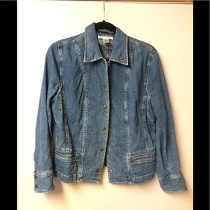 Jean jacket Jones New York medium